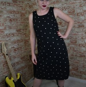 Vintage Requirements Polka Dotted Dress